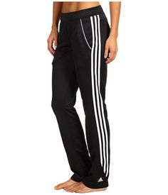 adidas response® Warm-Up Pant Black/White