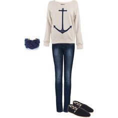 Casual, created by bailey-marie-boan on Polyvore