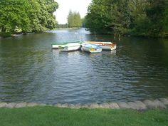 Boating lake at High Wycombe
