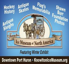 The year was 1963.  It was the first year for girls hockey at the new McMorran Arena in Port Huron.  Check out the exhibit at Knowlton's Ice Museum.
