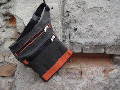Canvas Hip Bag Casual Belt Bag Urban Hip Pouch Festival by koatye1
