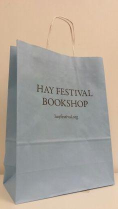 Hay Book Festival bags... Delightful