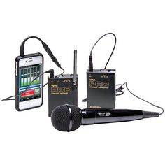 Azden Vhf Wireless Microphone System For Smartphones & Tablets