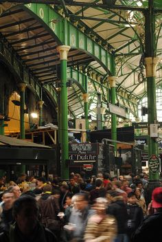 Borough Market is London's most renowned food market. A haven of quality food on offer but it is also the people and the place that makes it truly special.