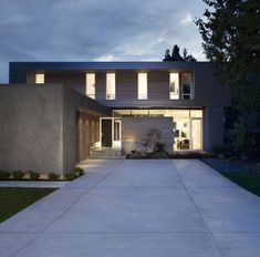 Campos Leckie Studio have designed the Ocean Park house near Vancouver, Canada.