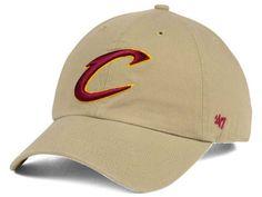 reputable site 9baff 5e6ec Cleveland Cavaliers  47 NBA Khaki  47 CLEAN UP Cap Hats For Sale, Dad