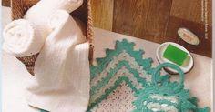 Um Jogo de Banheiro bem simples de fazer!!     Já to aqui pensando em fazer.. no lilas e roxo...