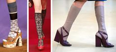 While men wear discreet compression socks, compression tights are now beginning to come into vogue among stylish women who sit on uncomfortably small airplane seats during long-haul travel. Compression Hose, Sock Shoes, Ny Times, Tights, Airplane Seats, Fashion Design, Fashion Trends, Clothes For Women, Stylish