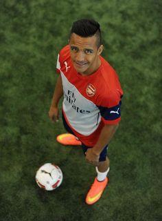 Alexis Sanchez of Arsenal FC