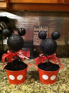 made for cousin's Mickey Mouse party