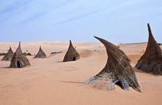 tuareg village, libya