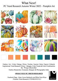 Pumpkin Art, Halloween Coloring, Fashion Art, Fashion Design, Fashion Colours, Color Pallets, Color Trends, Color Combinations, Print Design