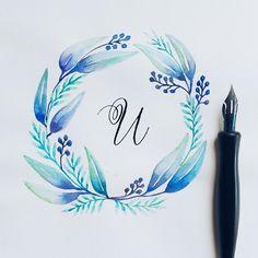 Don't under estimate the power of colors :) #calligrafikas #nibs
