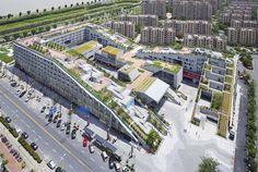 Imagen 3 de 14 de la galería de Complejo comercial Hangzhou Duolan/ BAU Brearley Architects + Urbanists. Fotografía de Shu He