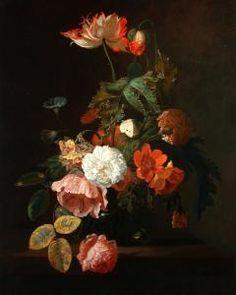Simon Pietersz. Verelst - Blumen In Einer Vase