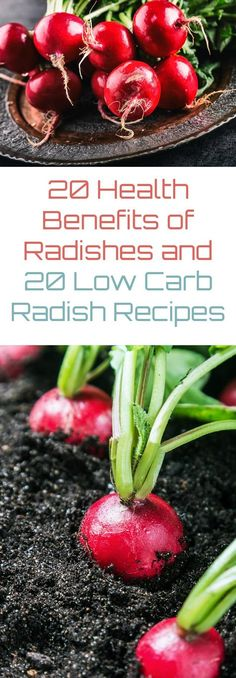 20 Health Benefits of Radishes and 20 Low Carb Radish Recipes
