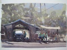 Joseph Zbukvic, Fallbrook, CA, plein air