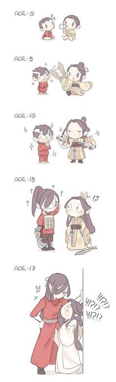 Fan Art Anime, The Grandmaster, Light Novel, Fujoshi, Chinese Art, Webtoon, Anime Couples, Manhwa, Chibi