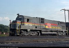 RailPictures.Net Photo: LN 1434 Louisville & Nashville Alco C630 at Corbin, Kentucky by Sid Vaught