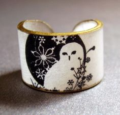 Winter Owl Ring