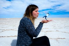 Perspective photos from the Salar de Uyuni 3 Day Salt Flat Tour with Red Planet Expeditions