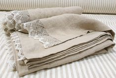 Lace trimmed TOP SHEET from washed natural flax grey linen - pure linen flat sheets - Twin Full Queen California King linen bed sheets - Add a luxe touch to your bedding with these top linen sheets from softened dye free European linen. Linen Sheets, Linen Duvet, Linen Pillows, Bed Linens, Shabby Chic Bed Linen, Shabby Chic Tops, King Bed Sheets, California King Bedding, Grey Flooring
