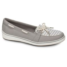 5d2013aed526 Keds Womens Charter Chambray Slip-On Shoe Round Toe