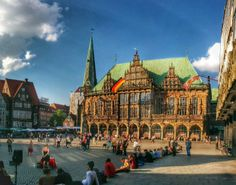 Bremen, Germany: town hall #HDR