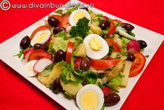 salata-orientala-de-vara Fruit Salad, Cobb Salad, Appetisers, Salad Recipes, Food And Drink, Cooking, Ethnic Recipes, Foods, Yummy Yummy