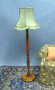 Hope everyone had a nice Thanksgiving. This is the floor lamp I was telling you about. I turned it on a drillpress using sandpaper and en...