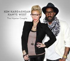 Hilarious Photos Show Celebrities as Hipsters - My Modern Metropolis