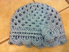 Anthro Inspired Crochet Hat: free pattern