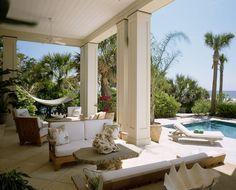 Veranda, hammock