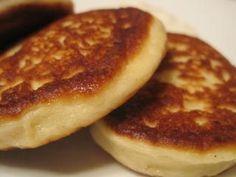 Russian syrniki (cottage cheese pancakes)