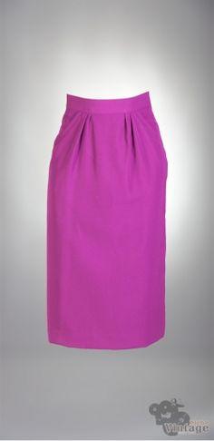 Vintage 70´s midi Diolen Pencil Skirt