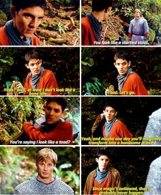 I loved this scene sooooo much. Merlin's got a lot of loveable sass. :P