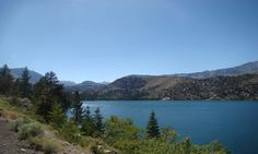 June Lake Loop is a 16-mile stretch of Route 158