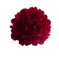 Tissue Paper Pom-Pom Flower Ball Wedding Party Decoration (Red, 8): Amazon.ca: Home & Kitchen