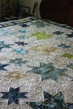 Prince Charming is in the Milky Way......quilted by Charisma