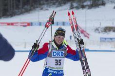 18.12.2015, Pokljuka, Slovenia (SLO):Marie Dorin (FRA) - IBU world cup biathlon, sprint women, Pokljuka (SLO). www.nordicfocus.com. © Manzoni/NordicFocus. Every downloaded picture is fee-liable. NordicFocus