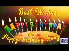 Happy Birthday Song NEW Best Good Wishes Happy Birthday Song for adults 2018 Jitesh Jadwani Free Happy Birthday Song, Free Singing Birthday Cards, Best Birthday Songs, Happy 13th Birthday, Happy Birthday Frame, Happy Birthday Greetings, Birthday Frames, Grandaughter Birthday Wishes, Great Birthday Wishes