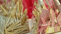 Domácí barevné těstoviny