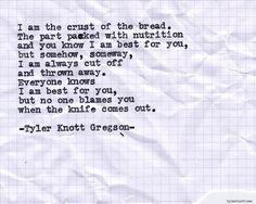 Typewriter Series #652byTyler Knott Gregson