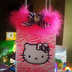 Aly's Hello Kitty Birthday Goodie Bags ! That I made :)