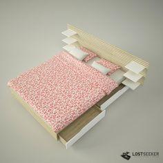 mandal ikea bed | ... ikea tags ikea mandal bed sleep pillow blanket shelving unit storage