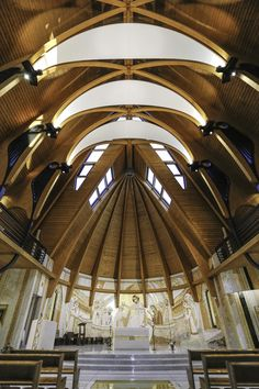 Gallery - The Church of the Order of Discalced Carmelites / Tudor Radulescu - 9
