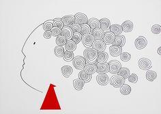 """andrea mattiello """"air"""" pennarello e collage su cartoncino cm 35x25; 2013 #art #arte #contemporanea #disegno #drawing #collage #paper #artista #emergente"""