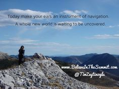 The New Sound Of Silence  Read the Post at www.BelieveInTheSummit.com