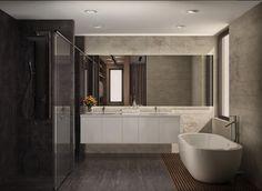 fatih beserek – İç mekan tasarım ve Görselleştirme: modern tarz Banyo Bathtub, Bathroom, Photos, Design Ideas, Bathroom Modern, Standing Bath, Washroom, Bathtubs, Pictures
