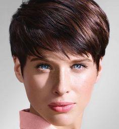 Une coupe pixie pour des cheveux fins